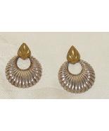 Vintage 925 Pierced Earrings Signed Norway Designs - $85.00