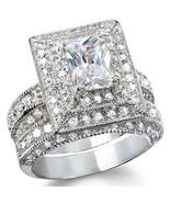 Women's 3.25ct Vintage Style Wedding Ring Set S... - $79.99