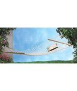 Two-Person Hammock  White Maximum Seating Weigh... - $24.97
