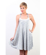 NEW NWT Anthropologie Tulle Silver Cheetah Anim... - $20.00