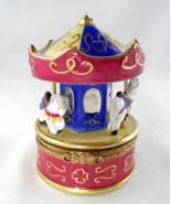 Limoges Box - Rochard Carousel & Horses - Merry... - $139.00