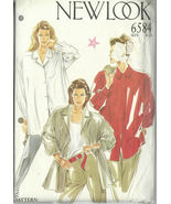 New Look Sewing Pattern 6584 Misses Womens Shir... - $12.99
