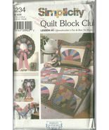 Simplicity Sewing Pattern 9234 Home Decorating ... - $9.98