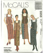 McCall's Sewing Pattern 8958 Misses Womens Jump... - $16.99