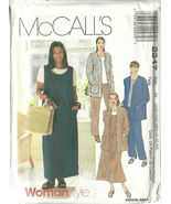 McCall's Sewing Pattern 2247 Womens Jacket Jump... - $14.98