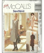 McCall's Sewing Pattern 3719 Misses Womens Jump... - $12.98