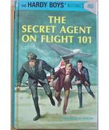 Hardy Boys mystery THE SECRET AGENT ON FLIGHT 1... - $3.00