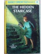 Nancy Drew mystery stories #2 THE HIDDEN STAIRCASE - $3.00