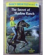 Nancy Drew THE SECRET OF SHADOW RANCH Carolyn K... - $2.50