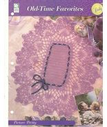 Picture Pretty Doily Crochet Pattern Oval Colle... - $2.99