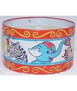 Vintage Chein Tin Toy Drum - Great Circus Litho... - $15.00