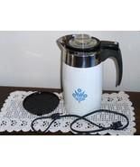 Corning Ware Cornflower Blue Coffee Pot 10 Cup ... - $69.97