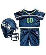 Build a Bear Seattle Seahawks 3 pc. Uniform Foo... - $69.95