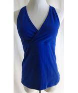 LULULEMON S M Blue Tank Top Running Yoga Fitness - $32.18