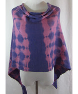 New NATURAL LIFE Sz One Size Purple Pink Tie Dy... - $22.72
