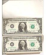 1974 One Dollar Bills 25 Uncirculated #'d Seque... - $99.95