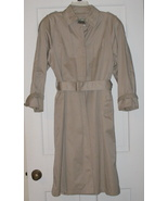London Towne Lined Trench Coat SZ 8 P - $21.95