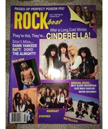 1990 - OCTOBER - ROCKbeat Magazine - POISON-CIN... - $14.99