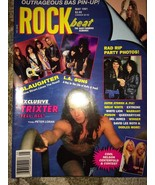 1991 - MAY - ROCKbeat Magazine - La guns, Slaug... - $14.99