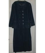 Baccini Blue Denim Dress w/ Jacket Size Small - $23.75