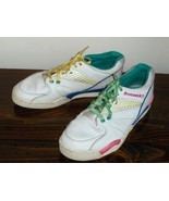 Brunswick Womens Bowling Shoes White Leather Si... - $24.00
