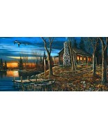 Complete Serenity by Jim Hansel Rustic Lake Cab... - $246.51