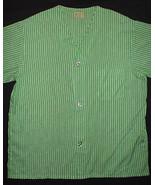 Vintage 1960's Mens Pajamas Top Cotton Batiste ... - $14.80