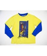 Boys FLAPDOODLES Long Sleeve Sports Theme Shirt... - $5.99