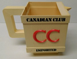 Vintage 1960's Canadian Club whiskey plastic  a... - $9.46