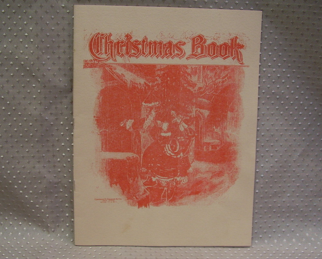 Christmas Book - Charles E. Graham & Co. NY-In memory of Drs. A L & Jane Johnson