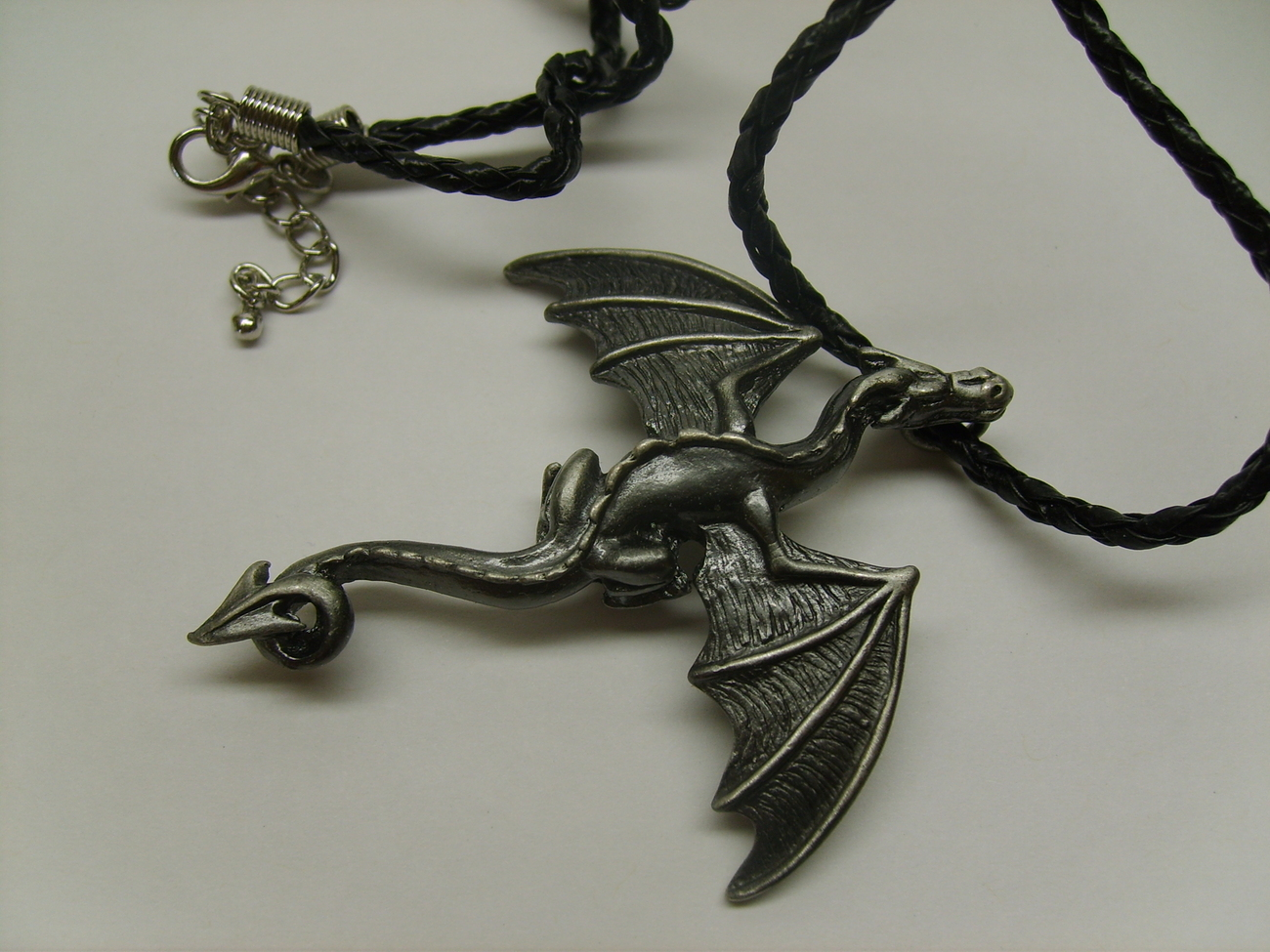 Mystic Collection Gothic Dragon 18 Inch Necklace