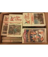 Lot of 54 VHS Disney Movies Classics Hard To Fi... - $88.94