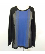 C. J. BANKS Size 1X Color Blocked Sweater - $11.99