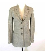 ZANELLA Size 6 Italy Silk Linen Wool Blend 3 Se... - $39.99