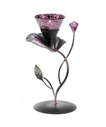 Lilac Lily Pad Tealight Holder - $21.00