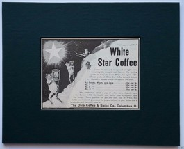 White Star Coffee Original 1903 Advertisement -... - $10.00