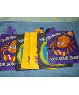 Halloween Lot of 6 Trick or Treat Bags Large 14... - $10.88