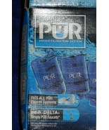 Two Blue/Gold PUR Water Filtration System 3 Sta... - $33.99