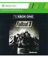Fallout 3 xbox 360/ONE game Full download card ... - $6.88
