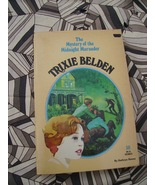Trixie Belden #30 Midnight Marauder HTF First  - $15.00