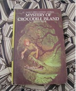 Nancy Drew #55 Mystery of Crocodile Island 1st ... - $22.00