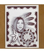 Limited Edition Native American Woman Print by ... - $49.97