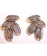 Vintage Sarah Coventry Gold Tone Oval Cascade C... - $14.99