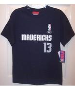 NWT Reebok SS Navy NBA Dallas Mavericks Steve N... - $15.99