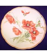 Beyer & Bock Rudolstadt Prussia Orange Poppies ... - $34.99