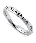 Men's or Ladies You are my Sunshine Band in Ste... - $24.00