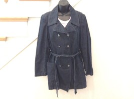 TALBOTS DOUBLE BREASTED  JACKET-COAT-METAL BUTT... - $18.57