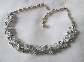 Vintage Rhinestone Lisner Necklace (EUC) #231 - $40.00