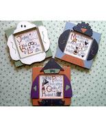 CLEARANCE Fall Alphabet JKL MNO PQR stitch char... - $3.00