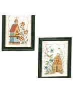 CLEARANCE Birds and Bees cross stitch chart Ima... - $2.50